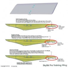 Sky Ski Beginner Rear Wing